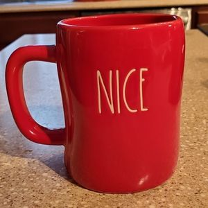 *BRAND NEW* RAE DUNN NAUGHTY/NICE RED MUG